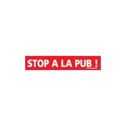 Panneau Stop a la pub (I0713)