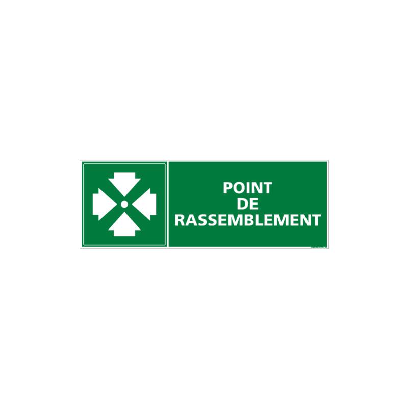 PANNEAU POINT DE RASSEMBLEMENT (B0163)