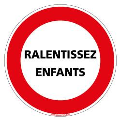 PANNEAU RALENTISSEZ ENFANTS (L0282)