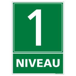 Panneau NIVEAU 1 (B0216)