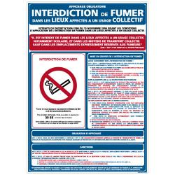 Panneau INTERDICTION DE FUMER (N0025)