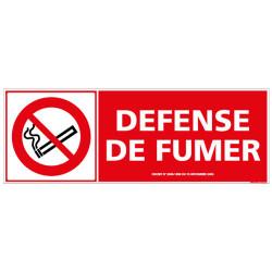PANNEAU DEFENSE DE FUMER (N0038)