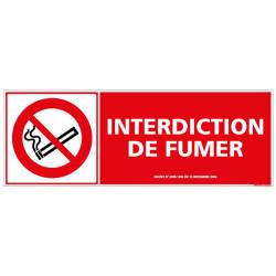 PANNEAU INTERDICTION DE FUMER (N0048)