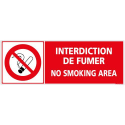 Panneau Interdiction de fumer (N0166)