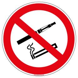 PANNEAU INTERDICTION DE FUMER ET DE VAPOTER (N0176)