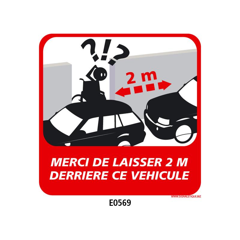 Panneau PERSONNES MOBILITE REDUITE (E0569 et E0570)