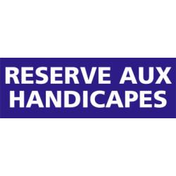 Panneau RESERVE AUX HANDICAPES (G0175)