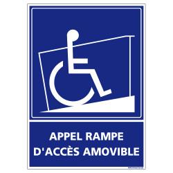 PANNEAU APPEL RAMPE D'ACCES (G1253)