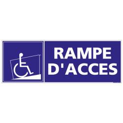 PANNEAU RAMPE D'ACCES (I0181)