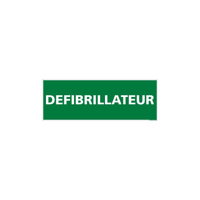 PANNEAU DEFIBRILLATEUR (B0252)
