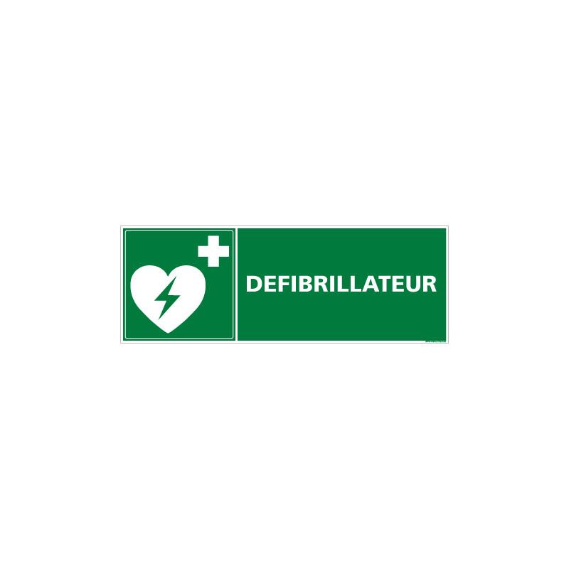 PANNEAU DEFIBRILLATEUR (B0255)