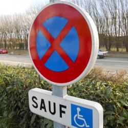 Kit stationnement Handicap - GAMME EUROP (W0093)