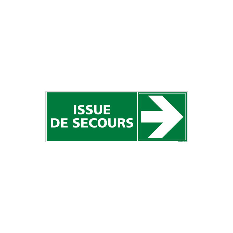 PANNEAU ISSUE DE SECOURS A DROITE (B0271)