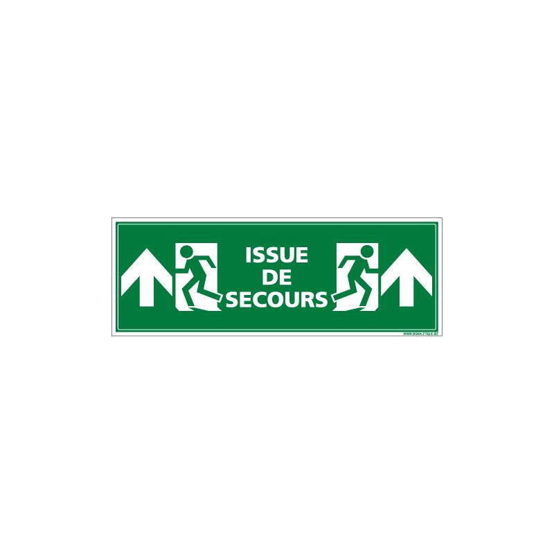 Panneau ISSUE DE SECOURS (HAUT) (B0292)