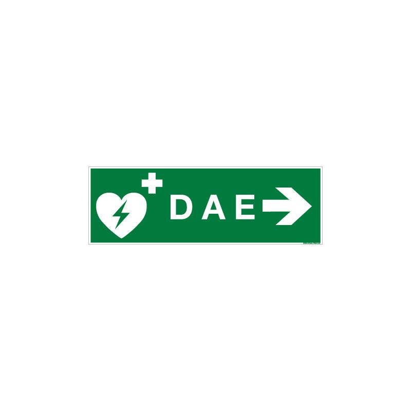 PANNEAU DAE FLECHE VERS LA DROITE (B0353)