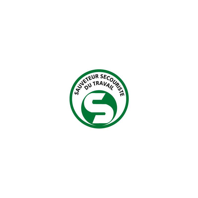 Panneau SAUVETEUR SECOURISTE DU TRAVAIL (B0358)