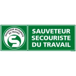 Panneau SAUVETEUR SECOURISTE DU TRAVAIL (SST) (B0359)