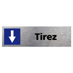 SIGNALETIQUE DE PORTE TIREZ (Q0105)