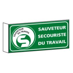 Signalisation Drapeau Sauveteur Secouriste du Travail SST (B061)