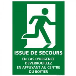 PANNEAU PICTOGRAMME EVACUATION/SECOURS(B0376)