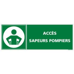 ESPACE ATTENTE SECURISE ACCES SAPEURS POMPIERS (B0400)