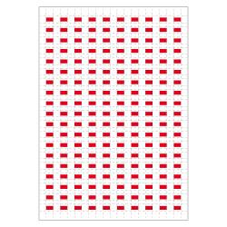 Planche A4 de 190 pictos en 10 x 10 mm Tableau systeme pour plan d'evacuation