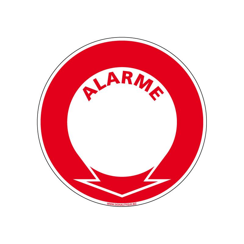 Panneau Incendie ALARME (A0032)