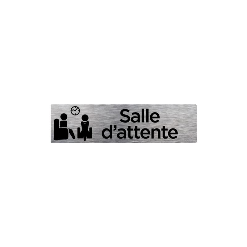 PLAQUE DE PORTE SALLE D'ATTENTE (Q0206)