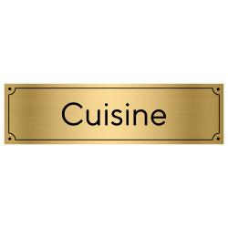 Plaque de porte pour cuisine (GRAV0004)