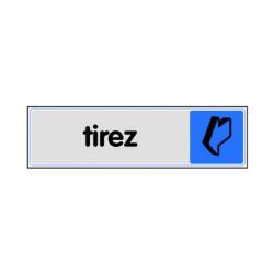 PLAQUE PLEXIGLASS TIREZ (W40333679) A l'unité