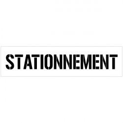 POCHOIR STATIONNEMENT (W0306)
