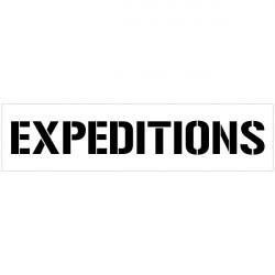 POCHOIR EXPEDITIONS (W0308)
