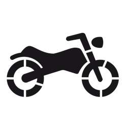 Pochoir MOTO (W1002)