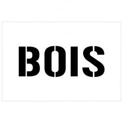 POCHOIR BOIS (W1026)