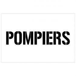 POCHOIR POMPIERS (W1029)