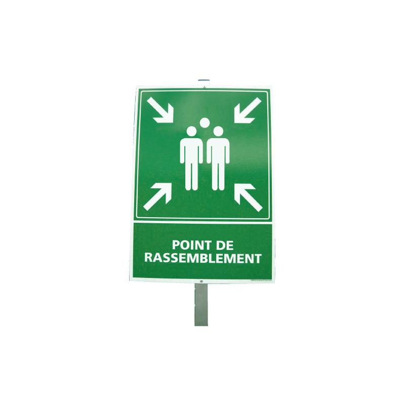 Kit panneau point de rassemblement (W0125)
