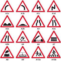 Signaux de danger - Type A