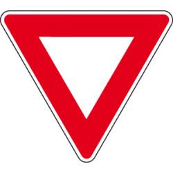 Panneau Routier - Signal d'intersection et de priorité - Type AB 3a