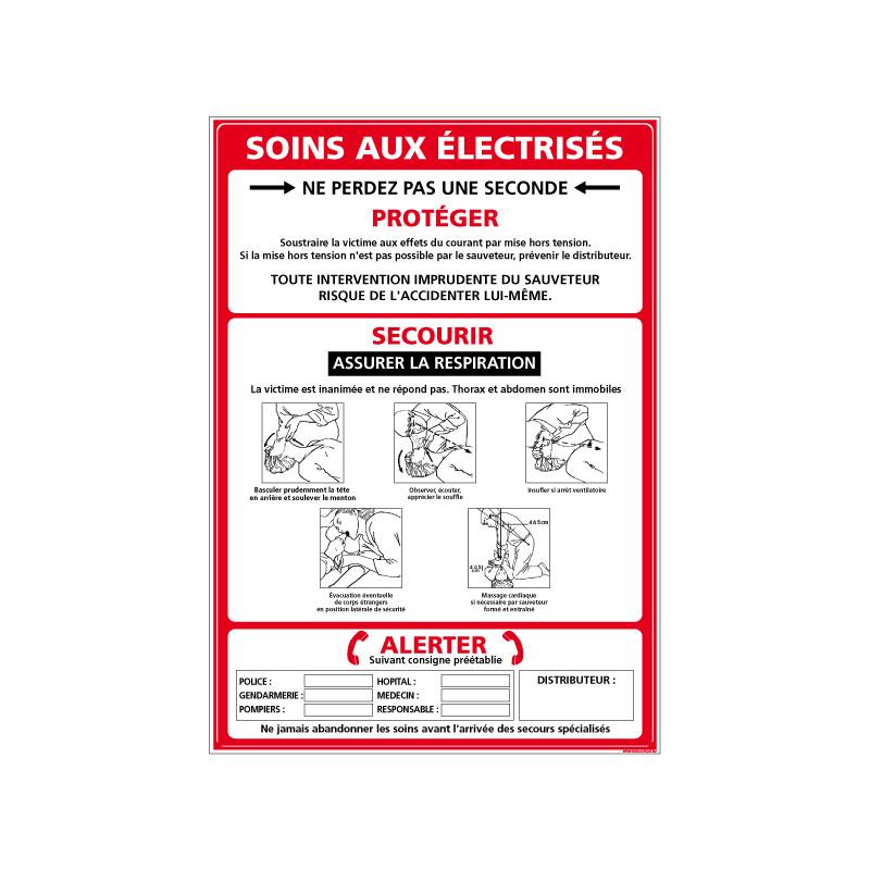 Panneau SOINS AUX ELECTRISES (A0319)