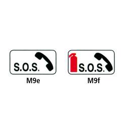 Panonceaux - Type M9e et M9f
