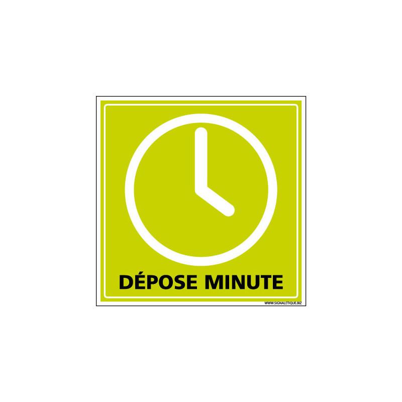 PANNEAU DEPOSE MINUTE (G1290)