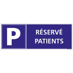 PANNEAU RESERVE AUX PATIENTS (G1299)