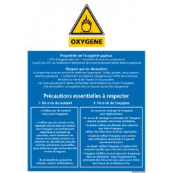 Consignes de securite oxygËne (A0352)