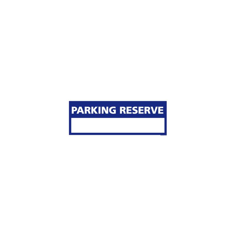 Panneau de signalisation PARKING PERSONNALISABLE (L0324)