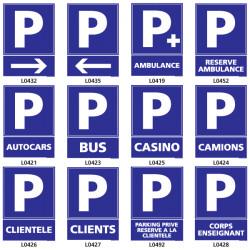 Panneau de Signalisation pour parking