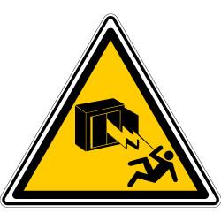 ADHESIF DANGER ARMOIRE ELECTRIQUE (C0003T)
