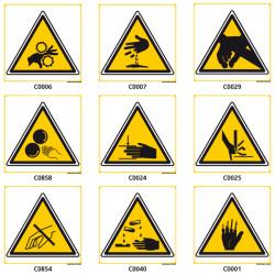 Panneaux de DANGER et d'AVERTISSEMENT