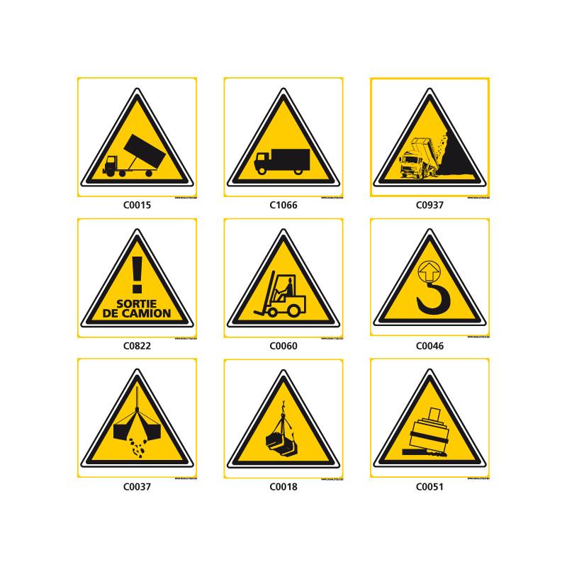 Panneaux de DANGER des TRANSPORTS