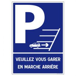 STATIONNEMENT EN MARCHE ARRIERE OBLIGATOIRE (L0590)