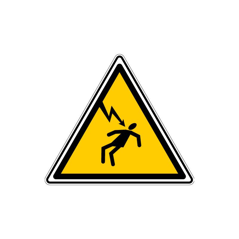 ADHESIF DANGER ELECTRIQUE (C0028T)